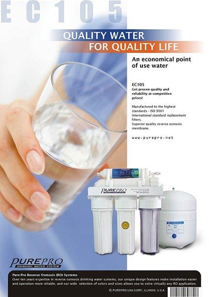 PurePro Hungary EC105 víztisztító 1